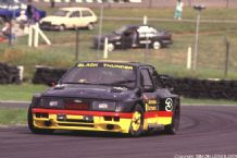 "Ford Sierra Pontiac ""Black Thunder"" Thundersaloons, Brands Hatch 1993 photo"